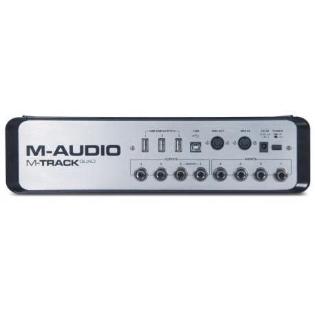 M-AUDIO M-TRACK QUAD SCHEDA AUDIO 4 CH.