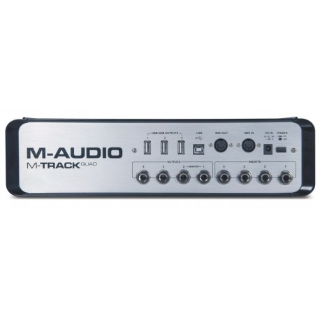 M-AUDIO M-TRACK QUAD