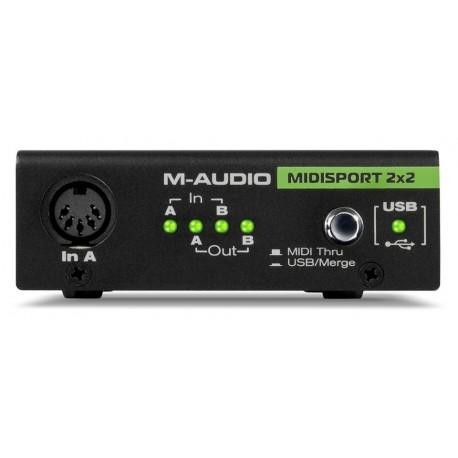 M-AUDIO MIDISPORT 2X2 USBANNIVERSARY EDITION
