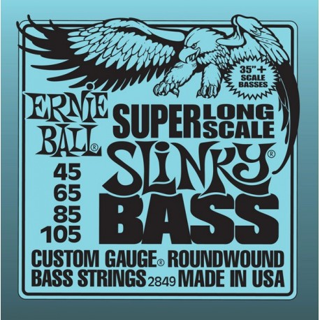 ERNIE BALL 2849 Super Long Scale Hybrid Slinky Bass