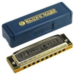 HOHNER BLUES HARP D (RE 532/20 MS)