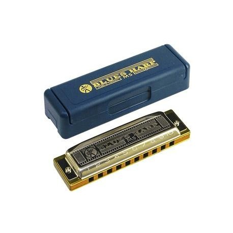 HOHNER BLUES HARP D (RE 532/20 MS)