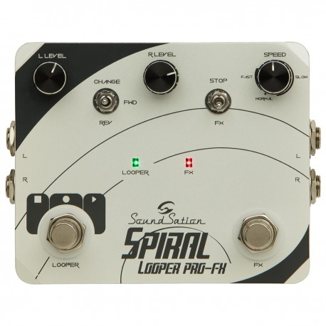 SOUNDSATION SPIRAL LOOPER PRO-FX