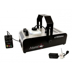 Atomic4Dj S1500 Dmx Wireless Macchina del Fumo 1500 Watt