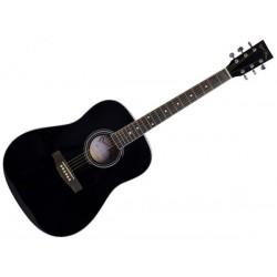 DARESTONE AG1S Black satin Chitarra acustica
