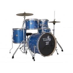 "TAMBURO T5 T5S18 BLSK BATTERIA CON CASSA 18"" BLUE METALLIZZATA"
