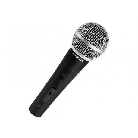 PROEL DM580LC MICROFONO DINAMICO PER VOCE