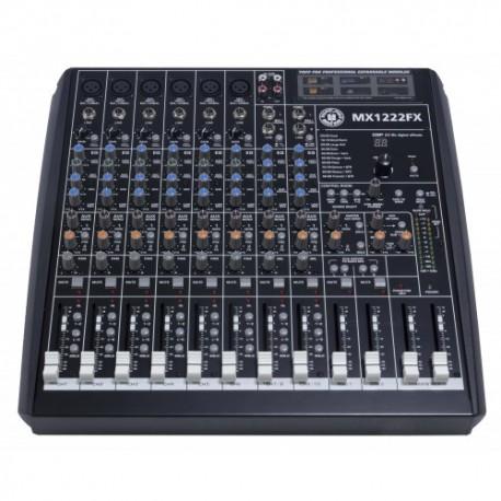 TOPP PRO MX1222FX mixer a 12 canali con effetti