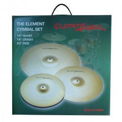 PEACE ELEMENT CYMBAL SET (14-16-20)